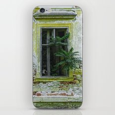 Lostplaces Window in castle Pottendorf iPhone & iPod Skin