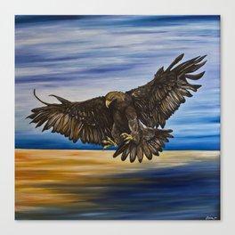 The Golden Eagle Canvas Print