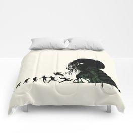 Lovecraftian Darwinism Comforters