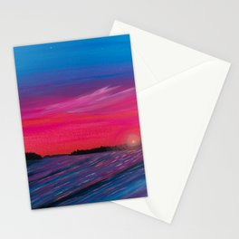 New River Beach Stationery Cards