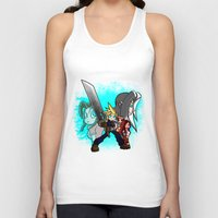 scott pilgrim Tank Tops featuring Cloud Pilgrim by CjBouchermedia