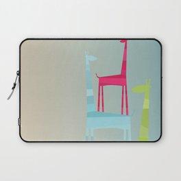 Giraffe Trio Laptop Sleeve