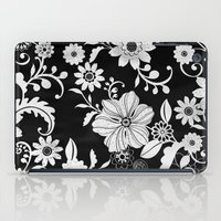floral pattern iPad Cases featuring Floral pattern by Laake-Photos