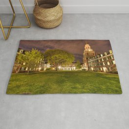 Pierson College courtyard at Yale University Rug