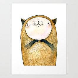cutie cat Art Print