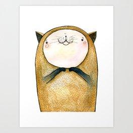 cutie cat Art Print