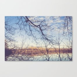 Embroidery Canvas Print