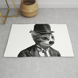charlie the cat Rug