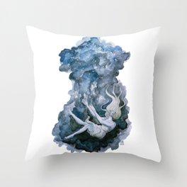Under Throw Pillow