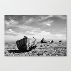 On Dungeness Beach Canvas Print