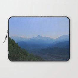 The Sun Rises over the Himalayas Laptop Sleeve