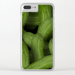 Pickles Clear iPhone Case