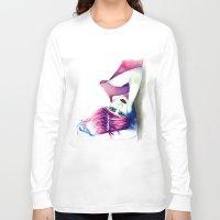 bubblegum Long Sleeve T-shirts featuring Bubblegum by Alessandra Castagnolo