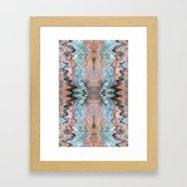 Copper Canyon Coordinate 1 Framed Art Print