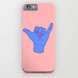 Hang Loose Bra iPhone Case