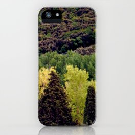 ghost tree iPhone Case