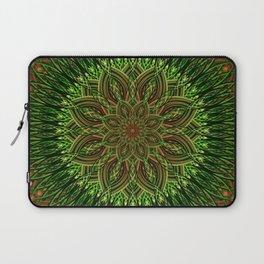Earth Flower Mandala Laptop Sleeve