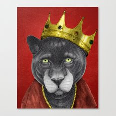 The King Panther Canvas Print