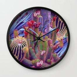Hazardous spiky plant Wall Clock