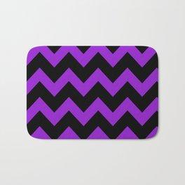 Purple Chevron Bath Mat