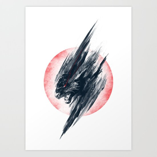 Thundercat 2.0 Art Print