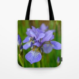 Siberian Iris by Teresa Thompson Tote Bag