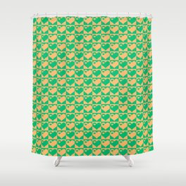Herzen Liebes Collage Shower Curtain