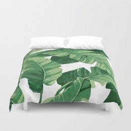 Tropical banana leaves IV Bettbezug