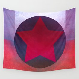 Star Composition X Wall Tapestry