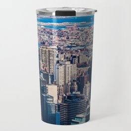 Midtown from top (HDR Color) Travel Mug