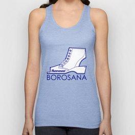 Borosana Borovo -  white nostalgic ortopedic shoe from Yugoslavia Unisex Tank Top