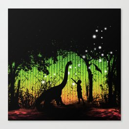 Off world adventure Canvas Print