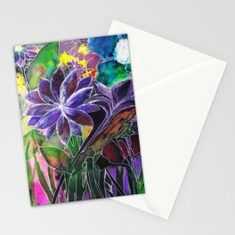 Spring Garden In Bloom Stationery Cards