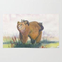 Bear Family Rug