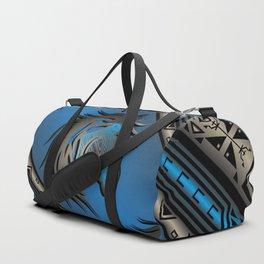Horse Nation (Blue) Duffle Bag