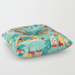 Hawaiian resort Floor Pillow