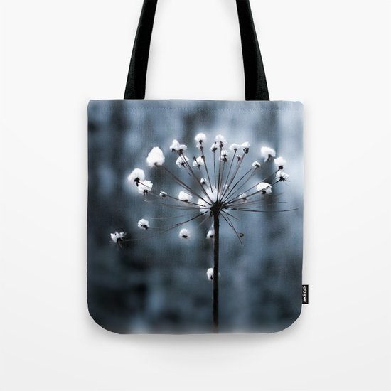 in the snow Tote Bag