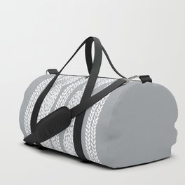 Cable Grey Duffle Bag