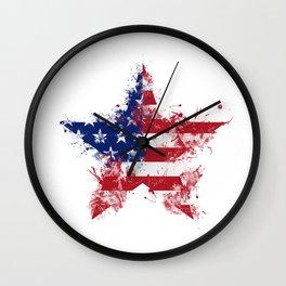 Artistic LXXXIX - Americana Star III Wall Clock