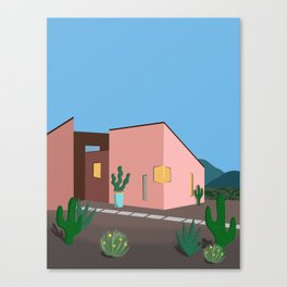 Desert House Canvas Print