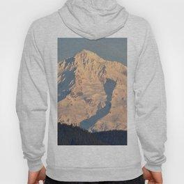 Twilight Over Mount Hood Hoody