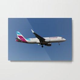 Eurowings Airbus A320 Metal Print