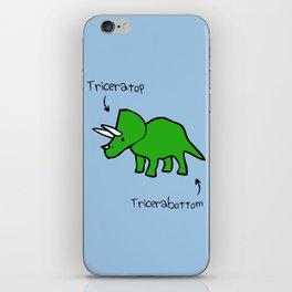 Triceratops Tricerabottom iPhone Skin