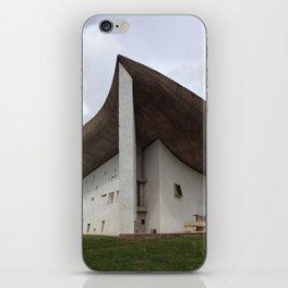 Chapelle Notre-Dame-du-Haut   Le Corbusier iPhone Skin