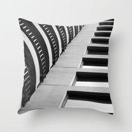 Concrete Structur Throw Pillow
