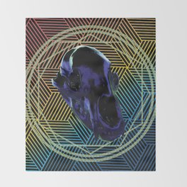Prismatic Conjuring Throw Blanket