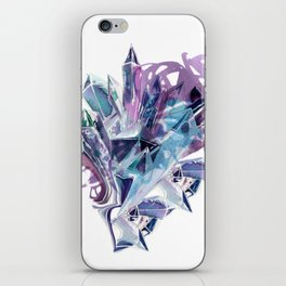 Liquid Crystal iPhone Skin