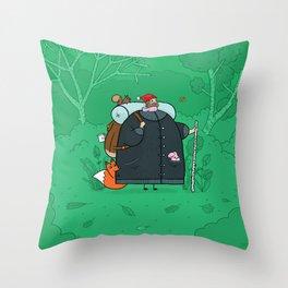 The Shouting Man Throw Pillow