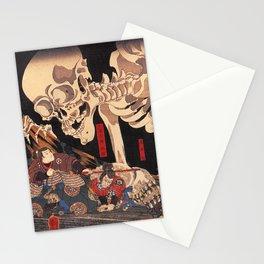 Takiyasha the Witch and the Skeleton Spectre, by Utagawa Kuniyoshi Stationery Cards