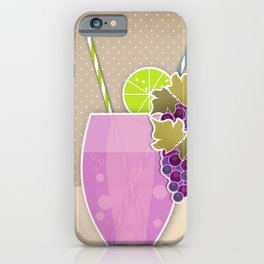 "Picture. The grape juice. From a set of paintings. The ""kitchen"". iPhone Case"